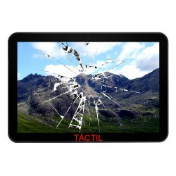 "Cambiar Digitalizador Tablet Tablet Cheesecake 7"" Lite + APPTB702"