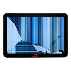 Cambiar Lcd o pantalla interna Easy Home 9 Dual Core
