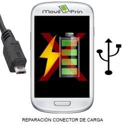 Reparación Conector Carga / Samsung S- SCL