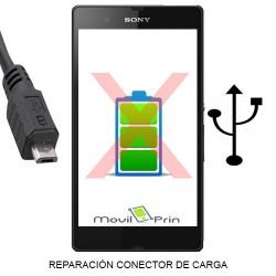 Reparación Conector Carga / Sony Xperia SP - C5302
