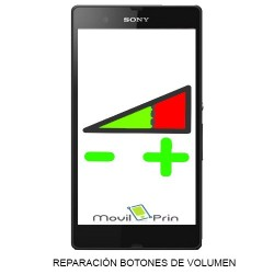 Reparación Botón Volumen / Sony Xperia SP - C5302