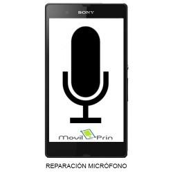 Reparación Micrófono / Sony Xperia SP - C5302
